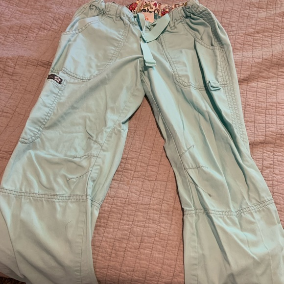 Koi Uniform scrub pants turquoise